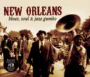 New Orleans: Blues, Soul & Jazz Gumbo - CD