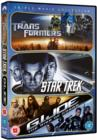 Transformers/Star Trek/G.I. Joe: The Rise of Cobra - DVD
