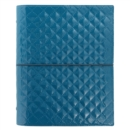 A5 DOMINO LUXE ORGANISER TEAL - Book