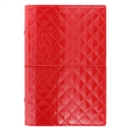 PERSONAL DOMINO LUXE ORGANISER RED - Book