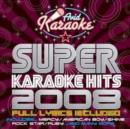 Super Karaoke Hits 2008 - CD