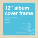 "12"" Album Cover Frame in Beech Wood Colour - Merchandise"