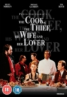 The Cook, the Thief, His Wife and Her Lover - DVD