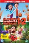 Cloudy With a Chance of Meatballs 1 and 2 - DVD