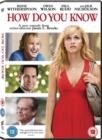 How Do You Know? - DVD