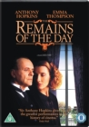 The Remains of the Day - DVD