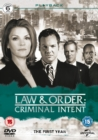 Law & Order - Criminal Intent: The First Year - DVD