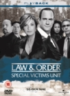 Law and Order - Special Victims Unit: Season 9 - DVD
