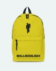 Billie Eilish Bad Guy Yellow Classic Rucksack - Merchandise