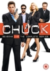 Chuck: The Complete Seasons 1-5 - DVD