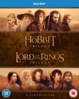 The Hobbit Trilogy/The Lord of the Rings Trilogy - Blu-ray