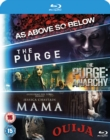 Mama/The Purge/The Purge: Anarchy/Ouija/As Above, So Below - Blu-ray