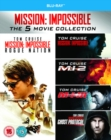 Mission: Impossible 1-5 - Blu-ray