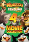 Madagascar and Penguins of Madagascar: 4-movie Collection - DVD