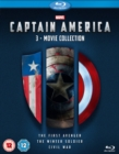 Captain America: 3-movie Collection - Blu-ray
