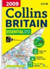 2009 Collins Essential Road Atlas Britain - Book