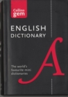 Collins English Gem Dictionary - Book