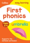 First Phonics Ages 3-4 : Prepare for Preschool with Easy Home Learning - Book