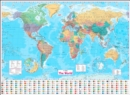 Collins World Wall Paper Map - Book