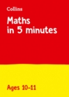 Letts Maths in 5 Minutes a Day Age 10-11 - Book