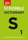 SCRABBLE (R) Dictionary Gem Edition : The Words to Play on the Go - Book