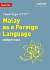 Cambridge IGCSE (TM) Malay as a Foreign Language Student's Book - Book
