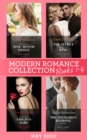 Modern Romance May 2020 Books 1-4: His Secretary's Nine-Month Notice / The Secret Kept from the King / Claiming the Virgin's Baby / The Spaniard's Wedding Revenge - eBook