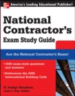 National Contractor's Exam Study Guide - Book