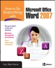 How to Do Everything with Microsoft Office Word 2007 - eBook