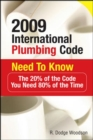 2009 International Plumbing Code Need to Know: The 20% of the Code You Need 80% of the Time - Book