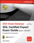OCE Oracle Database SQL Certified Expert Exam Guide (Exam 1Z0-047) - Book