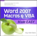 Word 2007 Macros & VBA Made Easy - eBook