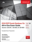 OCA/OCP Oracle Database 12c All-in-One Exam Guide (Exams 1Z0-061, 1Z0-062, & 1Z0-063) - Book