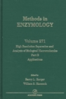 High Resolution Separation and Analysis of Biological Macromolecules, Part B: Applications : Volume 271 - Book