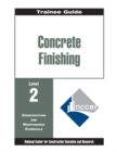 Concrete Finishing Level 2 Trainee Guide - Book