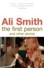 The First Person and Other Stories - Book