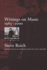 Writings on Music, : 1965-2000 - Book