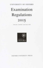 University of Oxford Examination Regulations 2015 - Book