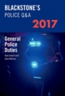Blackstone's Police Q&A: General Police Duties 2017 - Book
