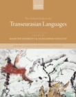 The Oxford Guide to the Transeurasian Languages - Book