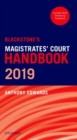 Blackstone's Magistrates' Court Handbook 2019 - Book