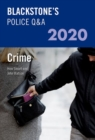 Blackstone's Police Q&A 2020 Volume 1: Crime - Book