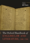 The Oxford Handbook of English Law and Literature, 1500-1700 - Book