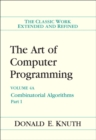 The Art of Computer Programming, Volume 4A : Combinatorial Algorithms, Part 1 - Book