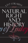Natural Right and History - Book
