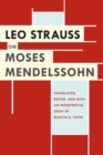 Leo Strauss on Moses Mendelssohn - Book