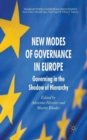 New Modes of Governance in Europe : Governing in the Shadow of Hierarchy - Book