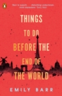 Things to do Before the End of the World - Book