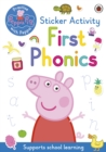 Peppa Pig: First Phonics : Sticker Activity Book - Book