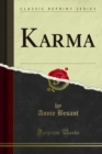 Karma - eBook